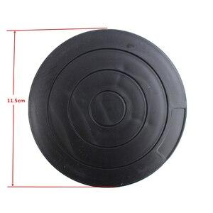 Черные керамические колеса круглые пластиковые поворотные пластины полимерные глиняные инструменты моделирование платформа модель для л...