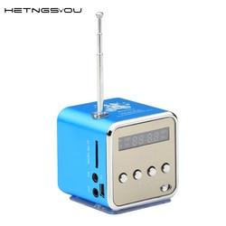 Hetngsyou genuine td v26 portable mini speaker digital lcd sound with sd tf usb aux fm.jpg 250x250
