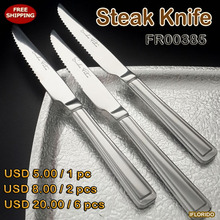 Free shipping ,2pcs/lot,6 pcs/lot,Stainless steel Steak Knife,FR00385