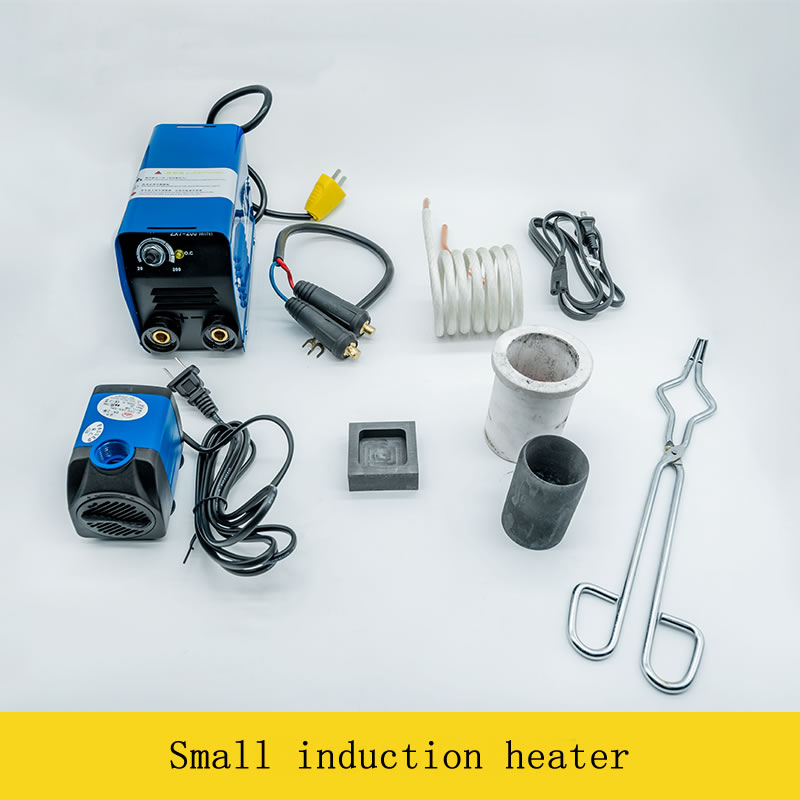 Image 4 - 2500W Medium and High Frequency Induction Heater Small Induction Heating Furnace for Gold and Silver Melting 1600C-in Integrated Circuits from Electronic Components & Supplies