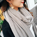 2016 Women Scarves And Shawls Woman Winter Scarf Luxury Brand Shawl Autumn Long Thickening Female Scarf Knitted Wool Foulard
