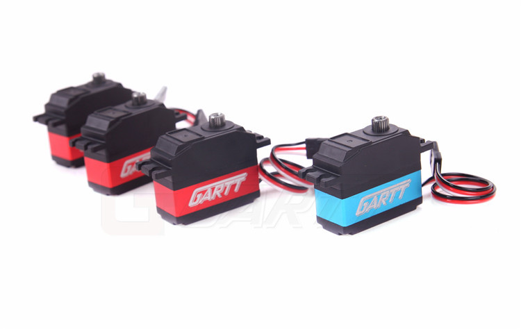 Freeshipping 3 X GARTT DS505 Swash Plate Servo 1 X DS515 Tail Servo For 500 RC
