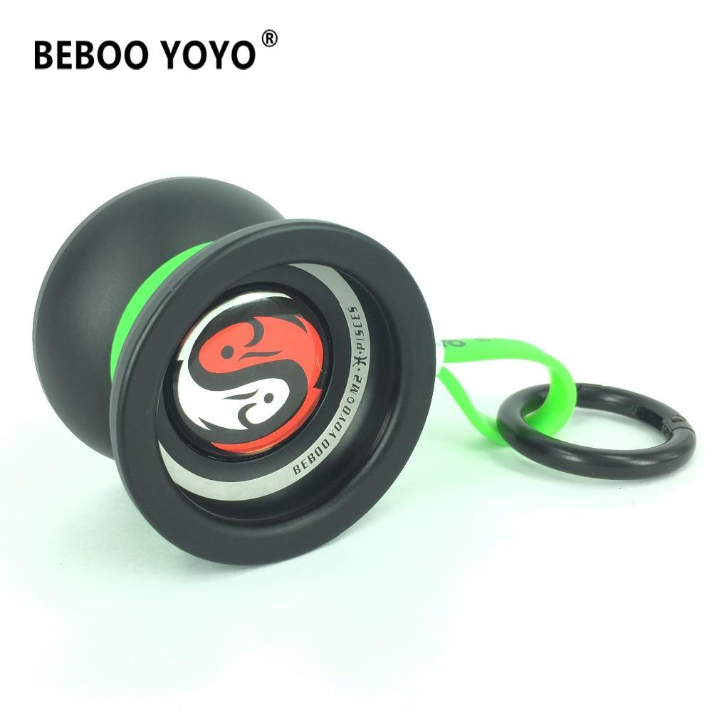 BEBOO YOYO Professional Yo-yo 10 ball bearing Metal Aluminum alloy M2 yoyo Classic Toys Diabolo Gift as gift 2017 new arrival