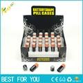 3pcs/lot small Battery Secret Stash caja Diversion Safe Pill Box Hidden Money Coins Container Case storage box almacenamiento