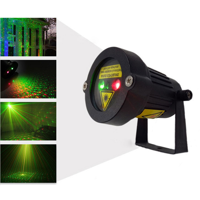 Outdoor Garden Decoration Waterproof IP65 Christmas Laser Spotlight Landscape Light Star Projector Shower With Remote Controller