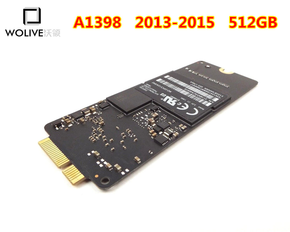 SSD Solid State Drive 512GB for MacBook Pro 15