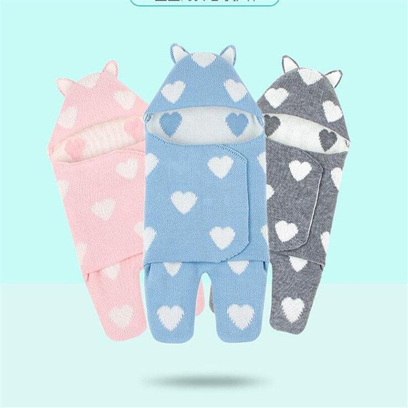 Bebê Reciving Cobertores Recém-nascidos Sacos de Dormir