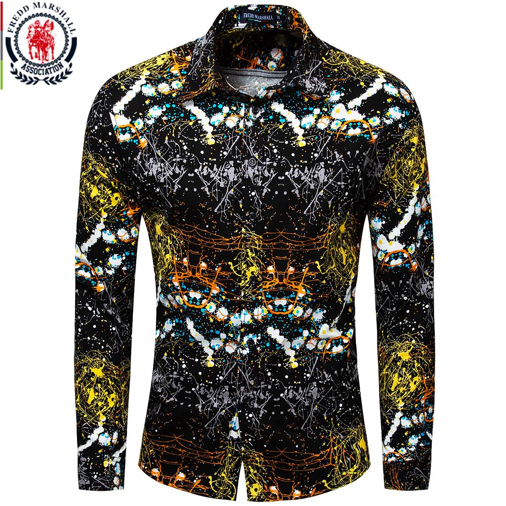 55c8e2e101 Cheap Casual Shirts, Buy Directly from China Suppliers:Fredd Marshall New  2018 Men Brand