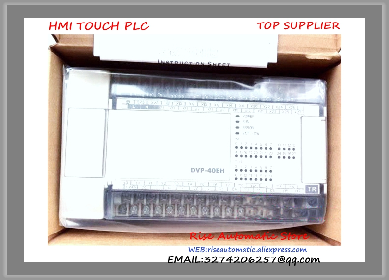 DVP40EH00R2 Delta PLC 24DI 16DO relay output New Original new original dvp16xn11r delta plc 16do relay output digital module