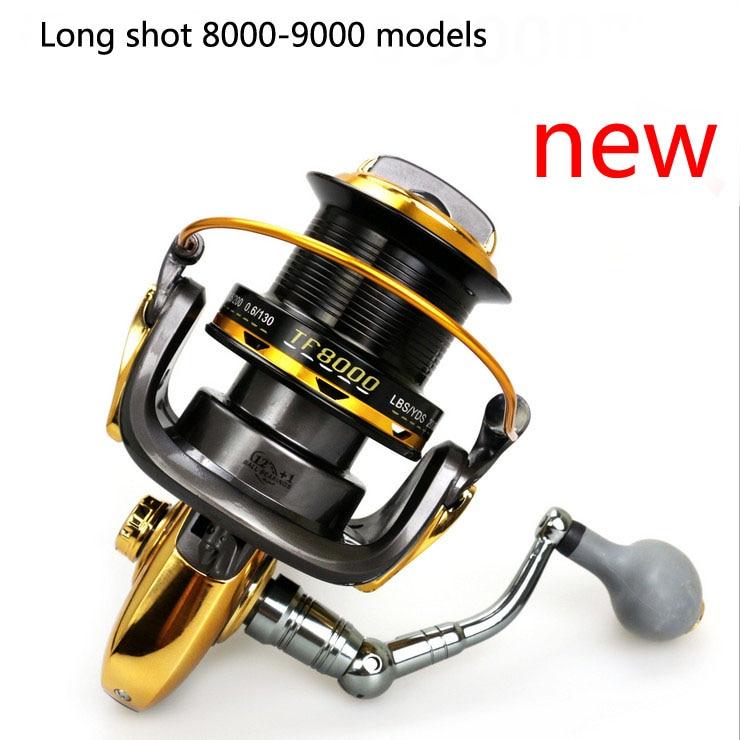 POINT BREAK New TF8000 9000 13 Axis Fishing Vessels All Metal CNC Rocker Arm High Strength Plastic Spinning Reels