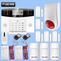 Главная охранной сигнализации системы беспроводной GSM 433 МГц сигнализации обеспечение домашней безопасности детектор комплект