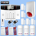 Домашняя система охранной сигнализации  Беспроводная GSM 433 МГц сигнализация  домашняя охранная сигнализация