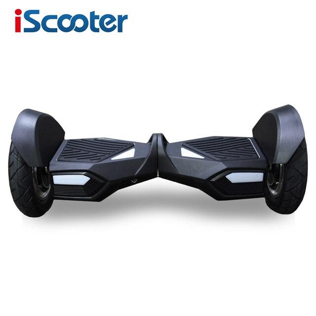 2016 Горячей Продажи iScooter Hoverboard 10 inch Два Колеса Электрический Скутер Умный Баланс Скутер Hoverboard С Bluetooth Динамик