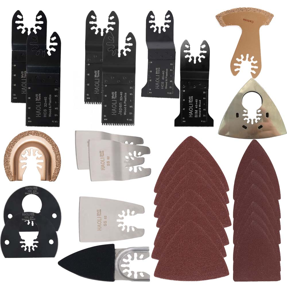 100pcs Oscillating Tool Saw Blades Accessories fit for Multimaster power tools as Fein, Dremel etc mixed size lowest price 500pcs finger sanding paper fits for multifunction power tool as fein multimaster dremel tools