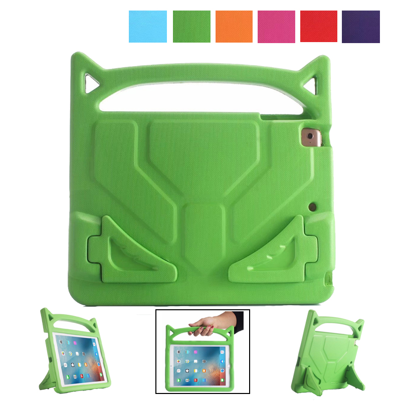 Safe EVA Shockproof Case for iPad 2 3 4 Cover Cool Handle Stand Tablet Kids Case for funda iPad 2 Case 3 cover 4 cases