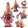 40pcs 166pcs Magnetic Designer Construction Set Model Building Kits Children Kids Puzzle Toys Multiple Color Blocks