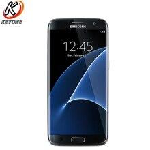 Оригинальный T-Mobile версия samsung Galaxy S7 край G935T LTE мобильный телефон 5,5 «4 ядра 4 ГБ Оперативная память 32 ГБ Встроенная память 12MP Android-смартфон