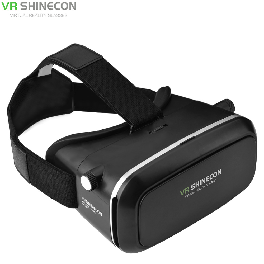 VR SHINECON Virtual Reality VR Box 1.0 3D Glasses For 3.5-6.0 inch Smartphone