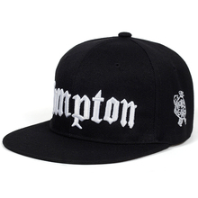 2068bf0956daf 2019 new COMPTON embroidery Baseball Cap Hip Hop Snapback caps flat fashion  sport Hat For Unisex