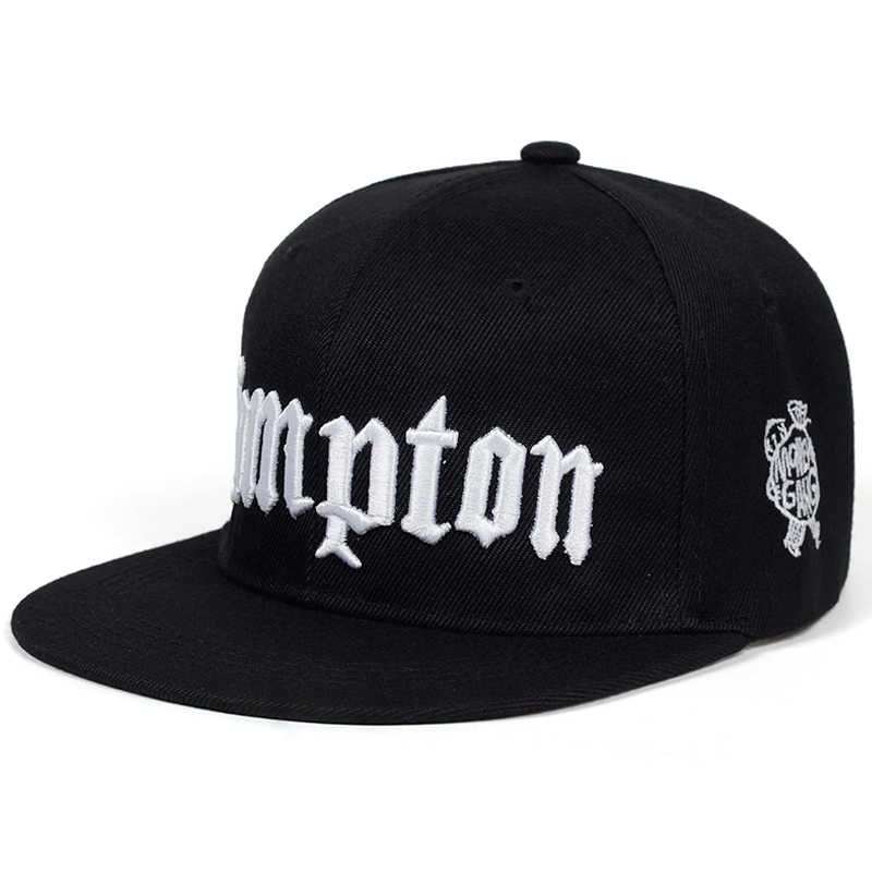 42965a30115d27 2019 new COMPTON embroidery Baseball Cap Hip Hop Snapback caps flat fashion sport  Hat For Unisex