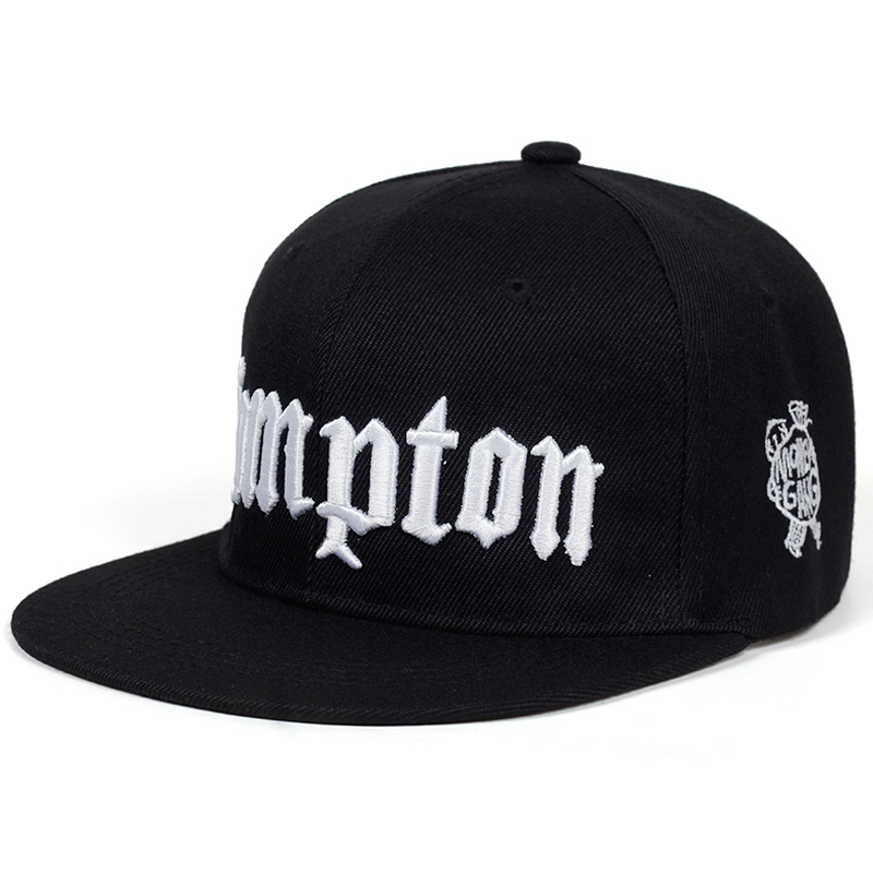 2019 new COMPTON embroidery <font><b>Baseball</b></font> <font><b>Cap</b></font> Hip Hop Snapback <font><b>caps</b></font> flat fashion <font><b>sport</b></font> Hat For <font><b>Unisex</b></font> Adjustable dad hats image