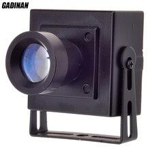 GADINAN Mini AHD Camera 2MP 1080P CCTV AHDH Camera MetalShell Indoor Security Surveillance Security Box Color AHD CCTV Camera