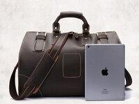 Crazy Horse, натуральная кожа, дорожная Компактная сумка для поездки для мужчин, кожаная сумка Bolsa Grande Duffel, дорожная сумка Male' s, прочная сумка