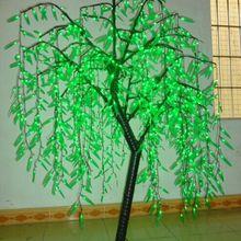 Свет ивы LED 1080 шт. светодиодов 2 м/6.6ft зеленый цвет непромокаемые помещении или на открытом воздухе Применение