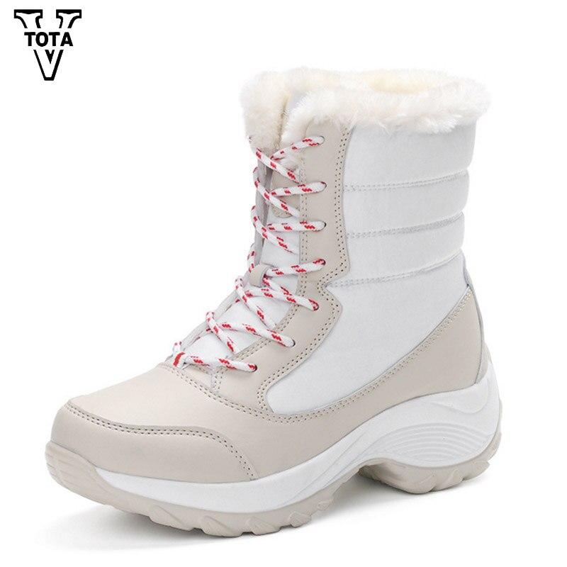 VTOTA Fashion Snow Boots Women font b Bota b font font b Feminina b font Casual