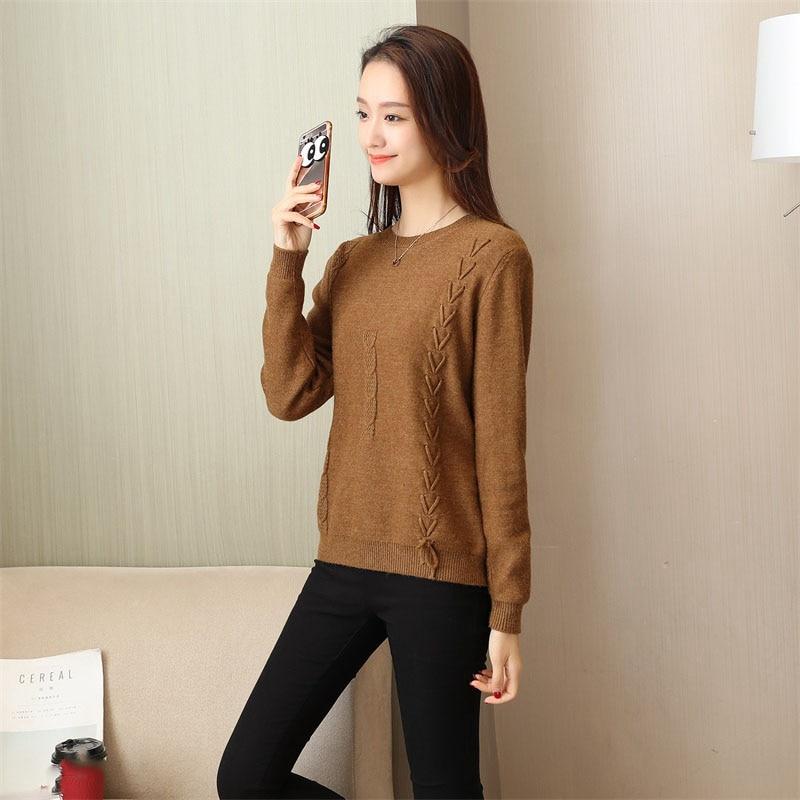 סוודר סתיו גבוהה אופנה 14