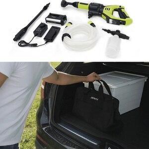 Image 3 - JIMMY JW31 inalámbrico de mano automóviles lavado pistola de coche de presión arandela de espuma para nieve movido por agua limpiador de boquilla