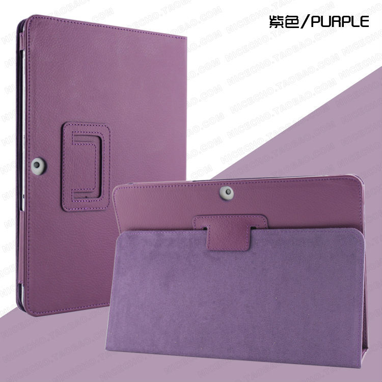 3 in 1 High Quality Slim Stand Cover Pu Leather Case For Samsung Galaxy Tab 2 10.1 P5100 P5110 + Stylus + Screen Film