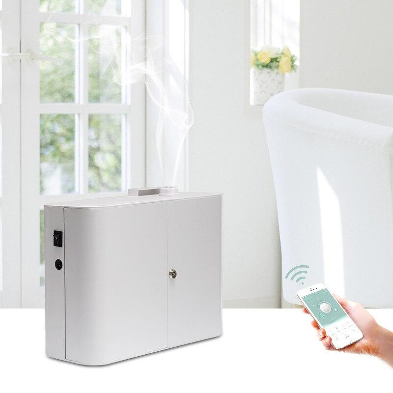 750 ミリリットル Wifi 香りアロマディフューザーオフィス香り機液晶オイル 2000 3000m3 用エッセンシャルオイル拡散システム  グループ上の ホーム&ガーデン からの スプレー器 の中 1