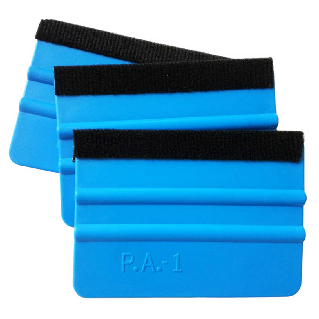 Car Vinyl Film Wrapping Tools Blue Scraper Squeegee with Felt Edge Car Styling Stickers Accessories
