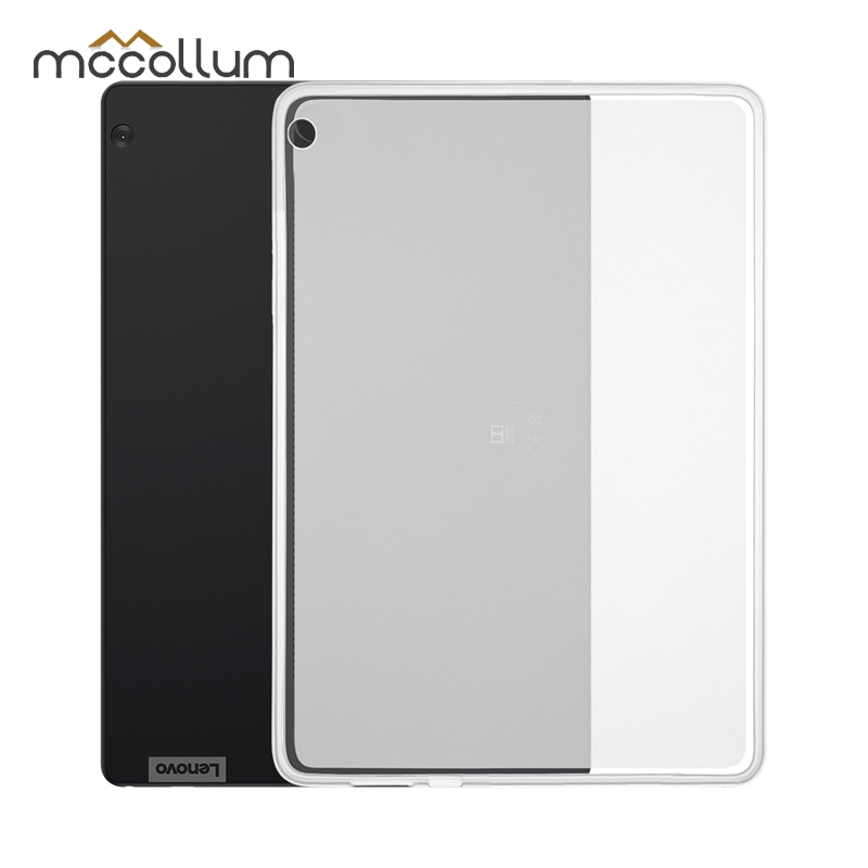 Clear Soft Tablet Case For Lenovo Tab P10 E10 E7 E8 M10 Case Silicone TPU Back Cover Lenovo Tab 2 3 7 8 <font><b>4</b></font> 10 Plus X104 X605 X705 image