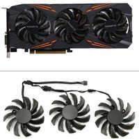 75MM T128010SU PC ventilateurs de refroidissement pour Gigabyte AORUS GTX 1080 1070 Ti G1 ventilateur de jeu GTX 1070Ti G1