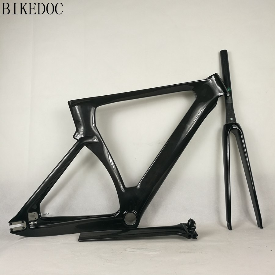 BIKEDOC 700C Carbon Track Frame Full Carbon Light Weight Bicycle ...