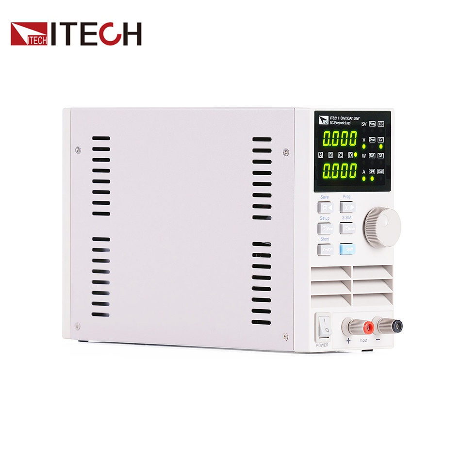Itech It8211 Professional Digital Control Dc Electronic Loads Single Simple Variable Power Supply 15 8211 30v 5a Channel 60v 30a 150w Instrumentation In Current Meters From Tools On