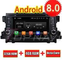 Topnavi 7 ''Android 8,0 Автомобильная радио тюнер для Mazda CX 5 2011 2012 автомобиля книге читатель видео бесплатно Карта обновление Wi Fi стерео