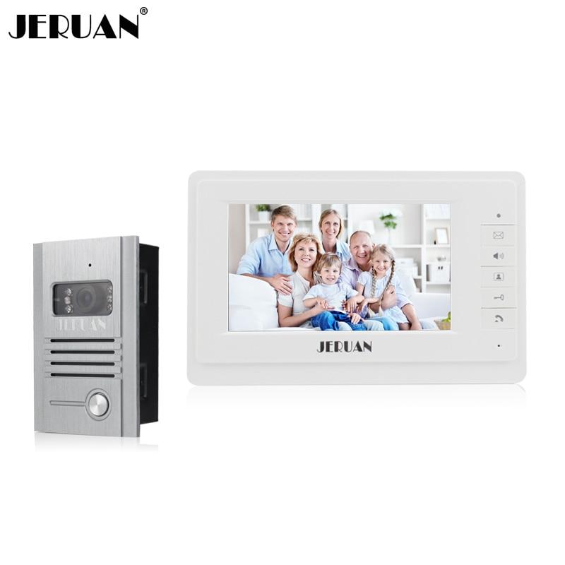 •̀ •́ Jeruan 7 дюймов видеофонная дверная система дверной ...