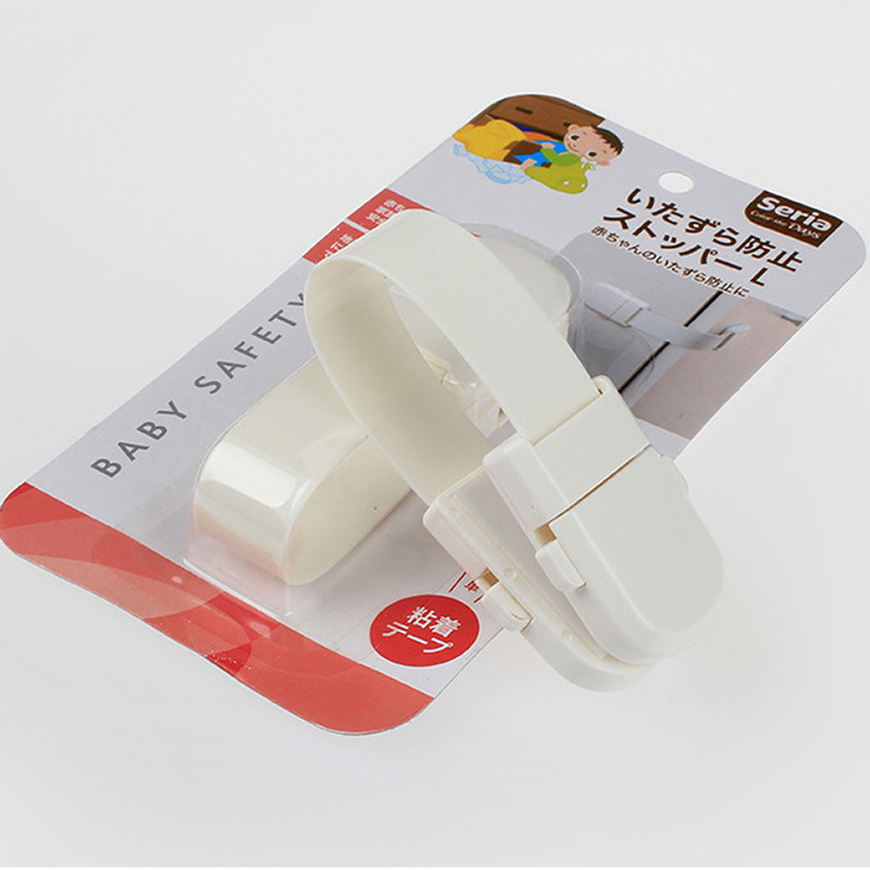 1pcs Japanese style Plastic Baby Safety Protection Child Lock Cabinet Door Baby Safety Lock Kid Safety