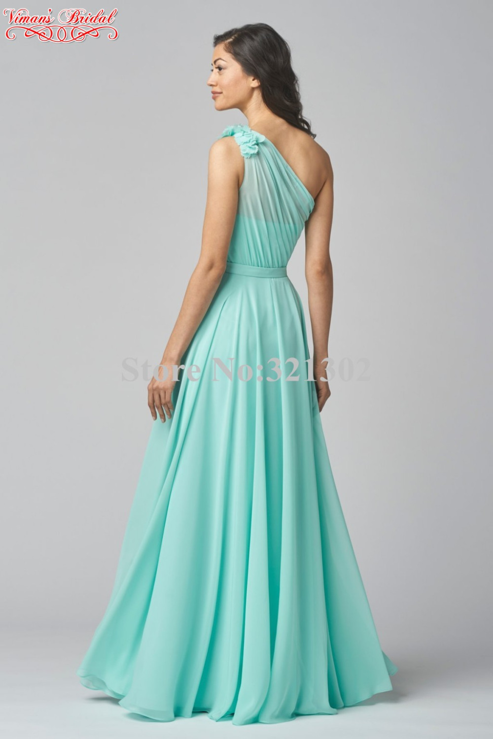 Aliexpress buy 2015 new style mint green bridesmaid dresses aliexpress buy 2015 new style mint green bridesmaid dresses pleat one shoulder floor length a line vestido de festa free shipping am13 from reliable ombrellifo Choice Image