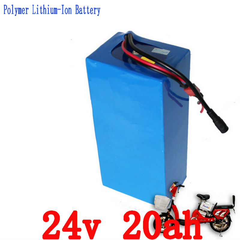 24v 20ah lithium battery 24v 20ah battery pack li-ion for 24v bicycle battery pack 350w e bike 250w motor with 15A BMS Charger free customs taxes super power 1000w 48v li ion battery pack with 30a bms 48v 15ah lithium battery pack for panasonic cell