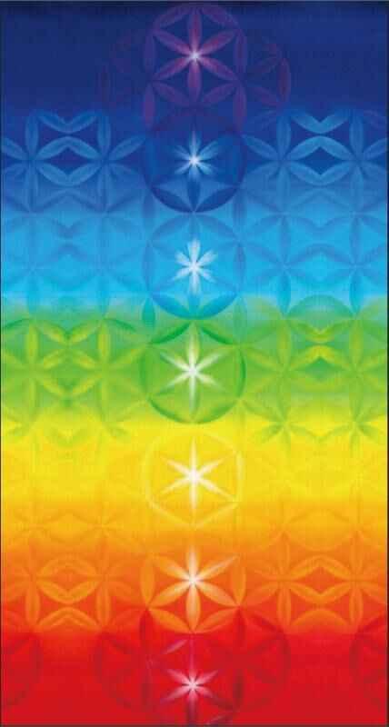 Lannidaa Plaid Hippie 7 tapiz de chacras Mandala alfombra de yoga Bohemia decoración para el hogar microfibra impreso viajes bloqueador solar Toallas de playa