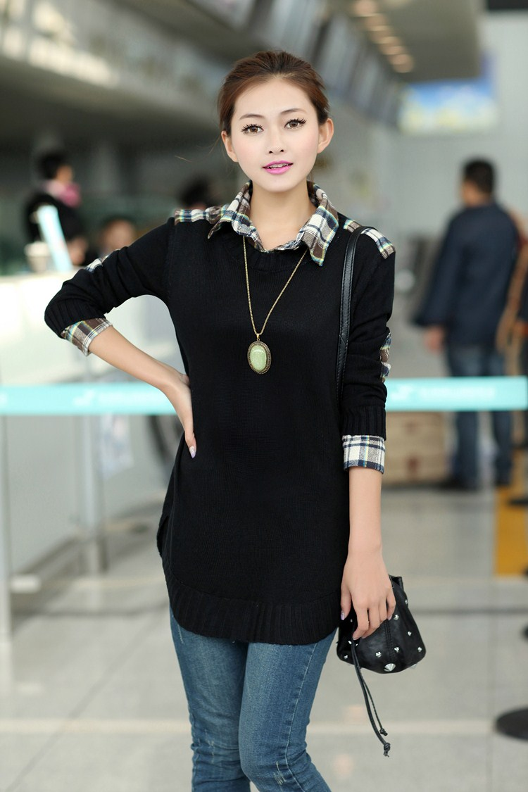Sweater Over Collared Shirt T Shirt Design Database