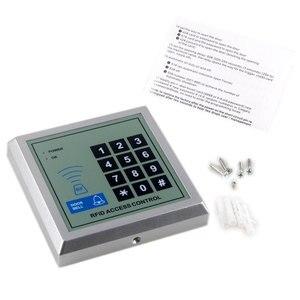 Image 3 - 2000 usuários rfid cartão de controle de acesso 125khz wg, teclado e controle de acesso código, leitor de cartão, 12v dc dc