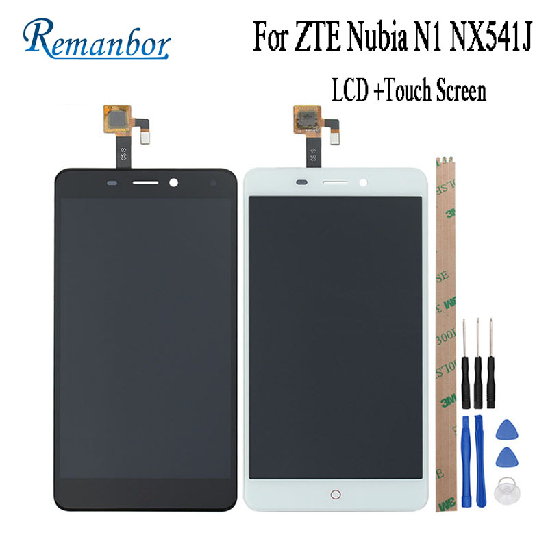 Remanbor For ZTE Nubia N1 NX541J LCD Display and Touch Screen 5 5 Assembly font b