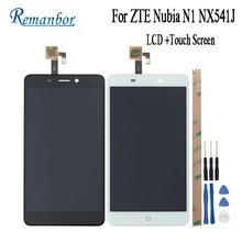 Remanbor для ZTE Нубия N1 nx541j ЖК-дисплей Дисплей и Сенсорный экран 5.5 »сборки телефон Интимные аксессуары для ZTE Нубия n1 + инструменты + клей