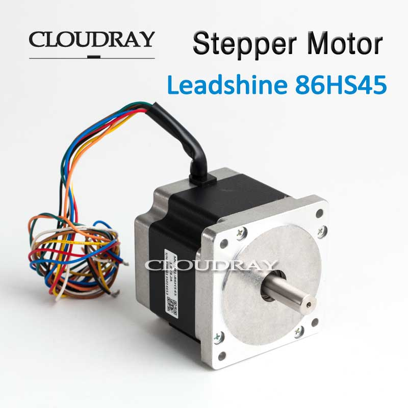 купить Cloudray Hybrid Stepper Motor Nema34 Motor De Passo Control Step 4.5 N.m4.2A 2 Phase 86HS45 For NEMA34 дешево
