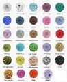 Baixo preço frete grátis 100 pçs/lote atacado argila moda Shamballa Bead Bracelet Disco pave bola Beads